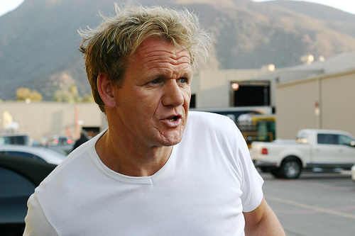 Chef Ramsay takes his Rant Home!!