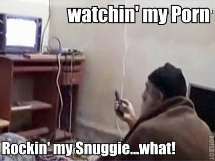Osama Bin Laden Embracing The American Culture!