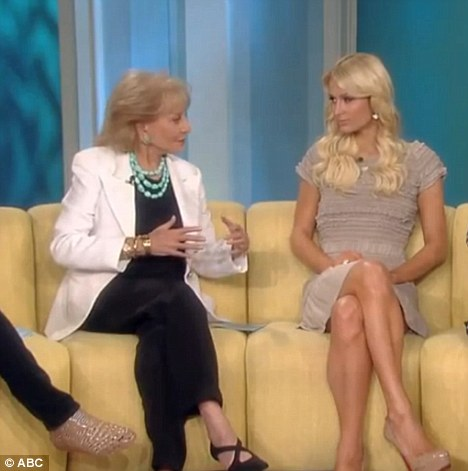 Barbara Walters goes in hard on Paris and she's Pissed (video)
