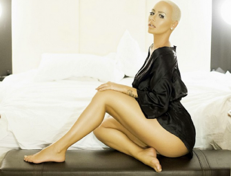 Amber Rose Nude Photos Leaked, Sent Via BBM (Big Bootie Message)!