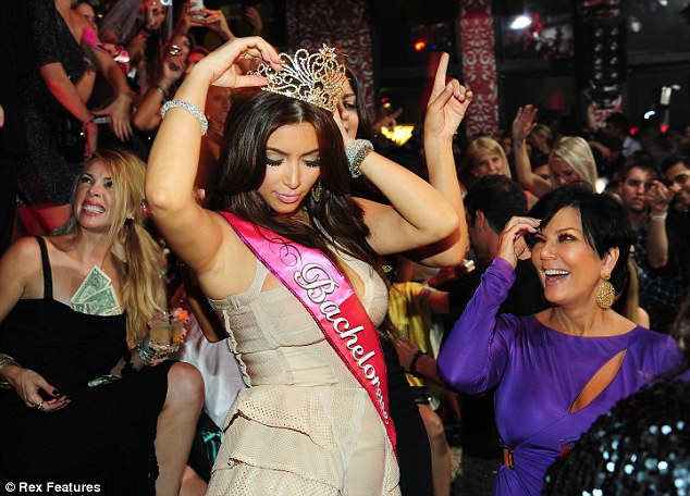 Kim Kardashian Bachelorette Party Photos!!