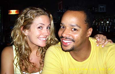 Funny man, Donald Faison Finally gets engaged.