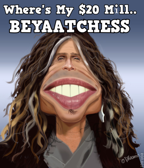 J-Lo's Deal is so Big, Steven Tyler Want's More Cheese