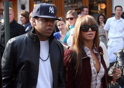 Beyonce and Jay-Z drop $1 Million on a Baby Van!  Damn! [photos]