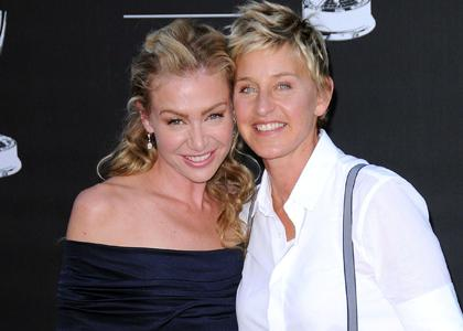 Ellen DeGeneres and Portia de Rossi all set to by Brad Pitt's Home in Malibu