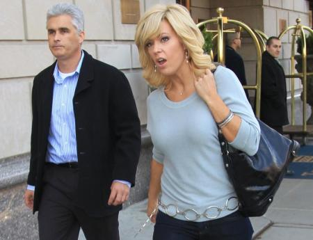 Is Coupon Cabin Paying Kate Gosselin Enough to Hire a Bodyguard? Cause Steve is Still Around.