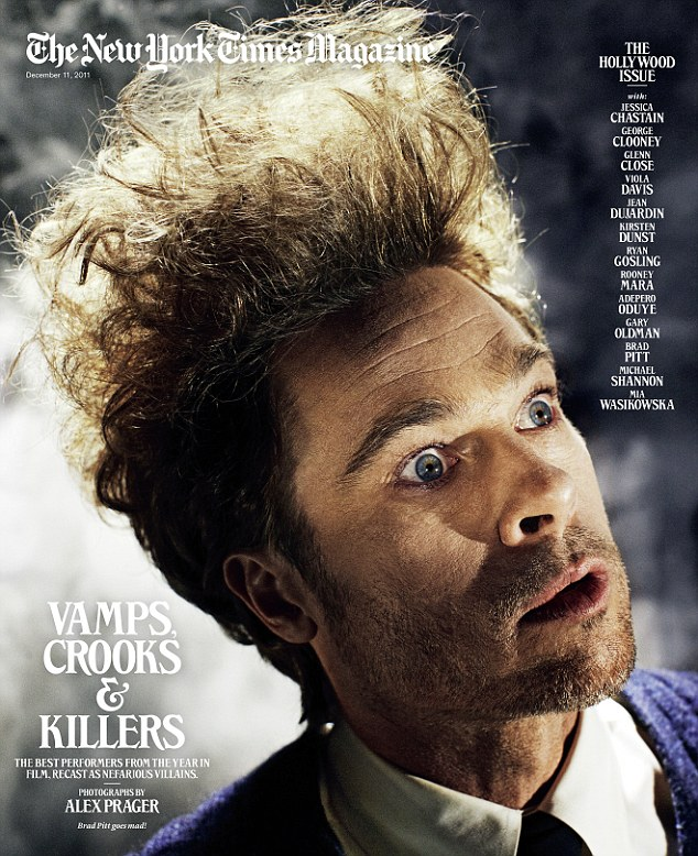 Brad Pitt's New York Times Magazine Photo Shoot – Eraserhead!