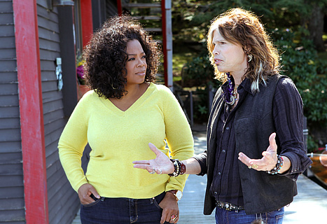 Oprahs next chapter with steven Tyler