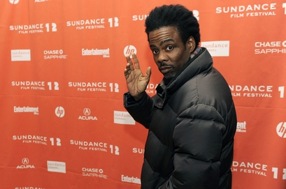 Chris Rock Gets Questioned at Sundance about Newt Gingich and Smashes Interviewers Camera!