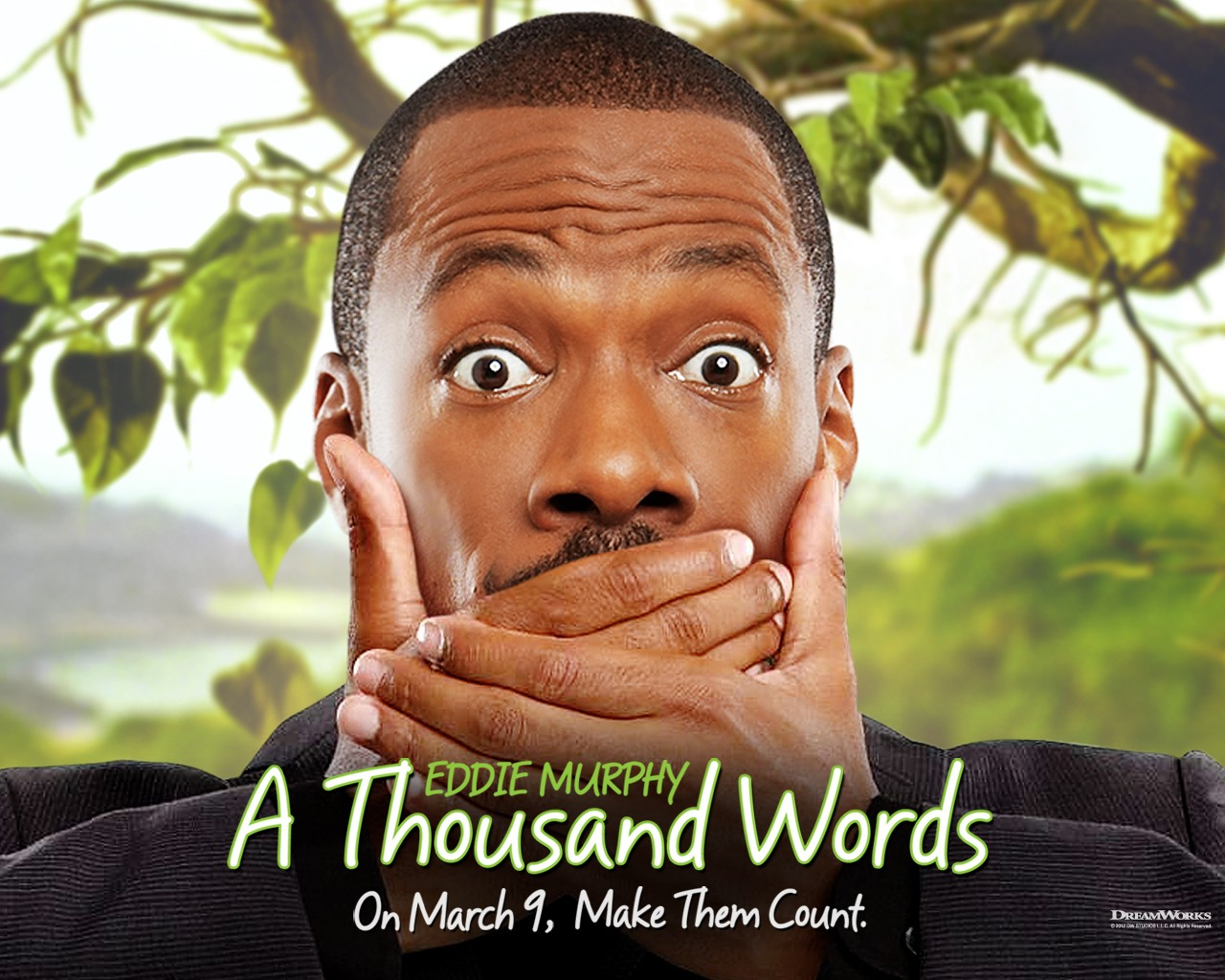 "Eddie Murphy Bombs Again with ""A Thousand Words"" Despite Promotion on BET and Lifetime"