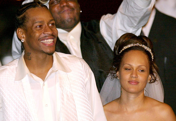 Allen Iverson's Divorce is Back On, Wife Tawanna Files for a Restraining Order