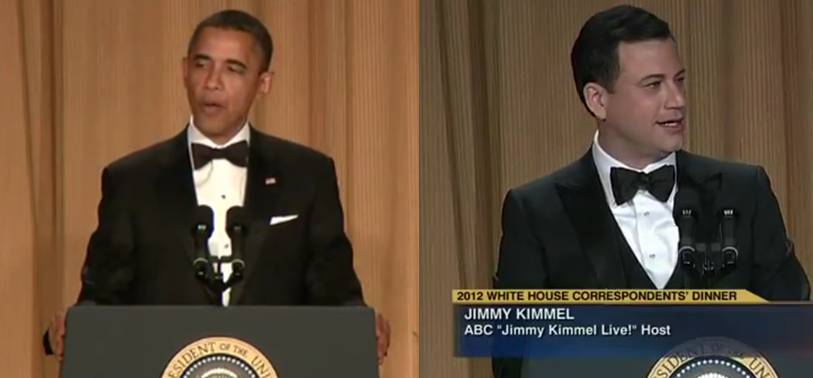 Jimmy Kimmel and President Obama's Top 5 Jokes From the White House Correspondents Dinner [video]