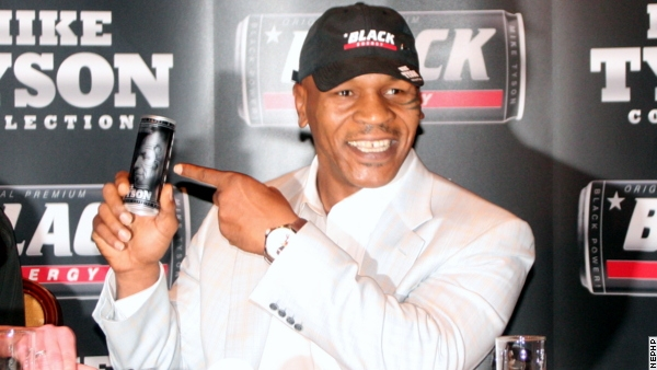 Mike Tyson Hits Poland to Launch Marketing Campaign for Black Energy Drink
