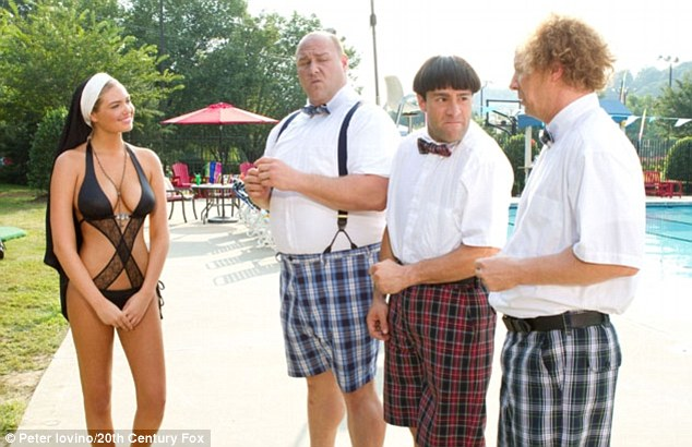 The Three Stooges and Kate Upton's Nun-Monokini are Getting a Lot of Attention!