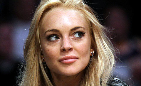 Lindsay Lohan, Another night, Another fight at the Smoke and Mirrors Night Club