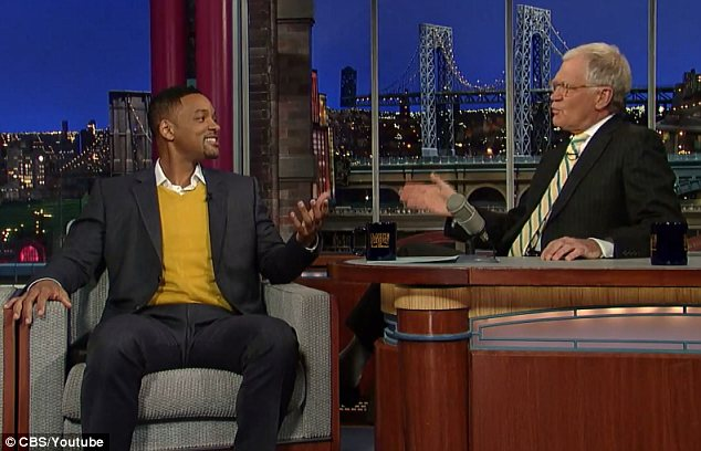 Will Smith Tells Letterman His Side of the Slap and Jokester Vitalii Sediuk Records a Video Apology[video]