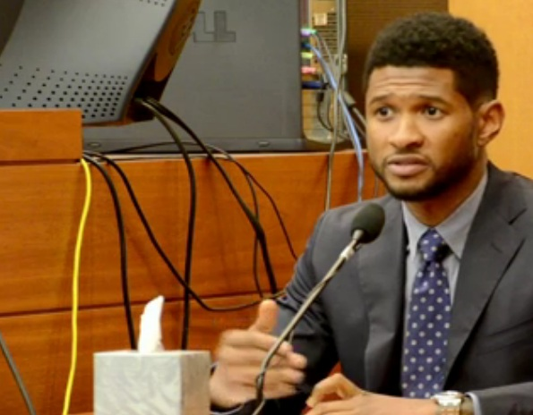 Usher Custody Battle, Things Just Got Real. Tameka Foster Accuses Usher of Sleeping with One of her Bridesmaids.