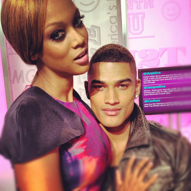 Is Tyra Banks Getting  Her Groove back?  Is She Dating Next Top Models  New Judge Robert Evans?