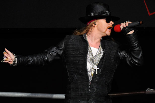Guns N Roses Lead man Axl Rose Robbed of $200K of Jewelry by a French Model!