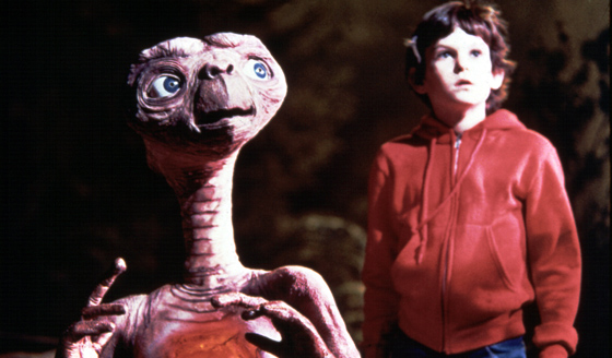 Spielberg Corrects a Classic, He Restores the E.T. Blu-Ray Release Back to it's Original 1982 Greatness.