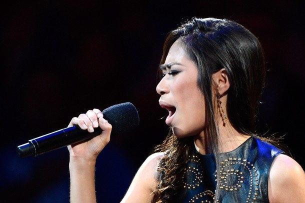 Jessica Sanchez Starts off the NBA Finals with her Rendition of the National Anthem! [video]