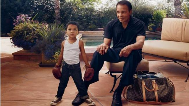 """Louis Vutton Uses Muhammad Ali for its New """"Core Values"""" Ad Campaign"""