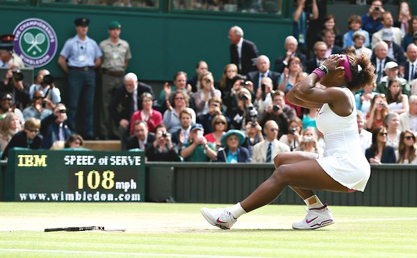 Serena Williams Pays Tribute To Sister After Fifth Wimbleton Victory