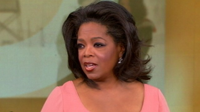 Why is Oprah in Barbados Doing an Interview?