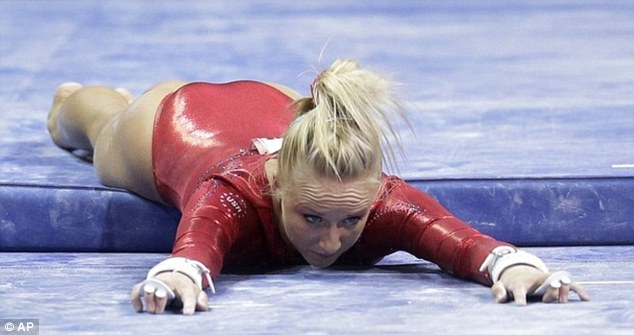 Nastia Liukin Ends Gymnastics Career with a Dramatic Fall During Olympic Trials