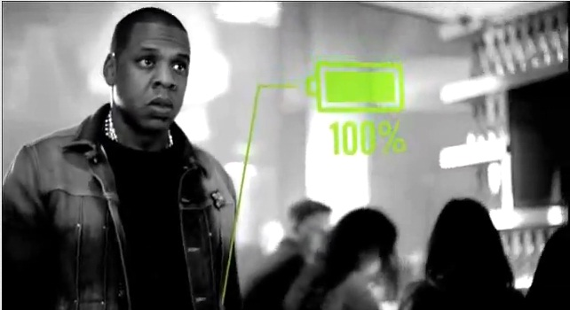 Jay-Z  and Duracell Team Up for New Ad for the Duracell Powermat. [video]