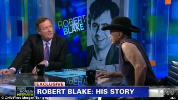 "Robert Blake Goes buck Wild on Pierce Morgan.  Pierce Says, ""Are You Insane""?"