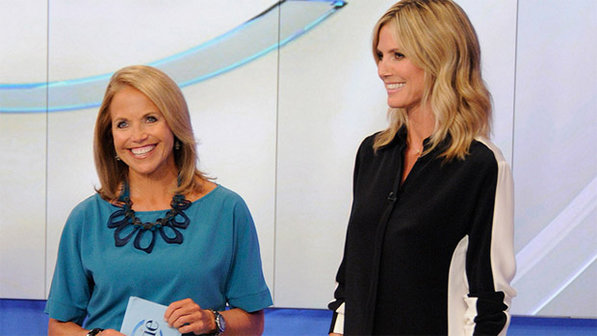 Heidi Klum reveals to Katie Couric What's really Going on With Bodyguard Martin Kristen