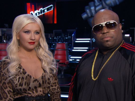 Cee-Lo and Christina Aguilera Will be Replaced Next Season by Two New Stars?