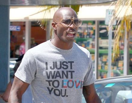 Chad Ochocinco Johnson Buys Himself A little Something to Cheer himself Up.