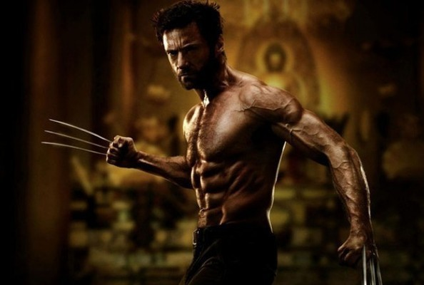 The New Wolverine Movie Poster has been Released; NEWSFLASH: Jackman is Ripped.