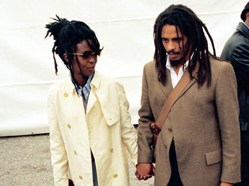 Rohan Marley Says That Wyclef's is Lying About Lauryn Hill To sell Books.