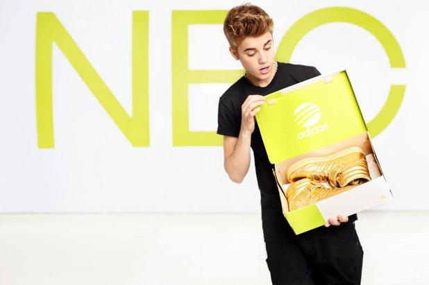 Justin Bieber is the new face for Adidas new NEO label