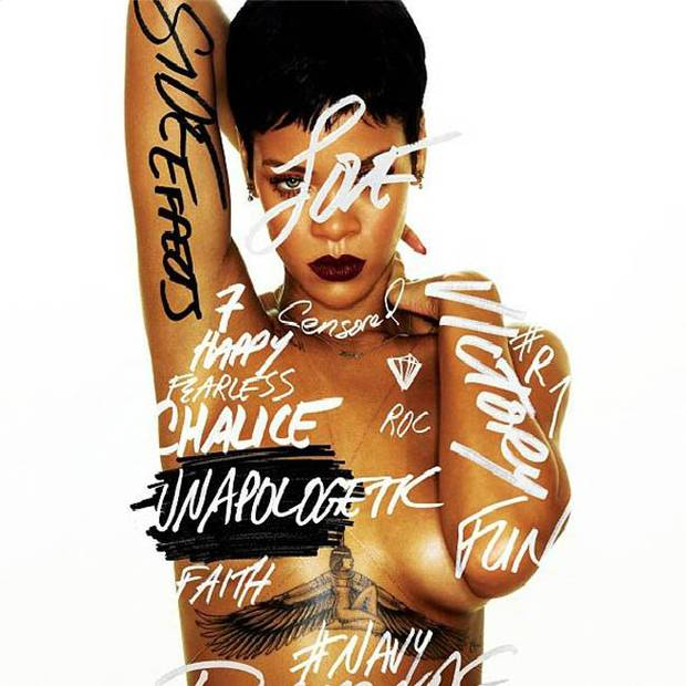 Rihanna has named her new album Unapologetic and Releases Cover Art