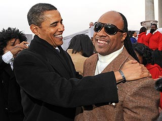 """Listen To Stevie Wonder's Obama Campaign Song, """"Keep Moving Forward""""."""