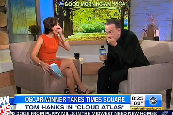 "Watch Tom Hanks Drops the F-Bomb During a Live ""Good Morning America"" Broadcast"