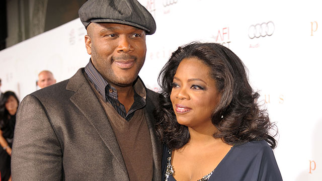 Oprah Taps Tyler Perry to Join the OWN network Producing the Channels' First Scripted Series