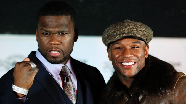Floyd Maywheather and 50 Cent Exchange Twitter Pics and Words – I'm not Convinced the Beef is Real