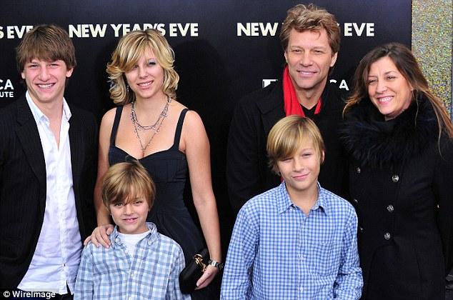 Jon Bon Jovi breaks Silence one Week After His Daughter Stephanie's Overdose.