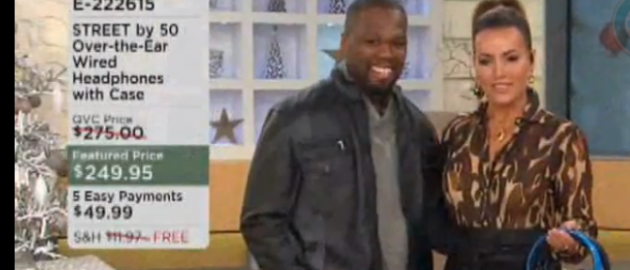 50 Cent Hits QVC Again.  Clears $200k in Just 20 Minutes