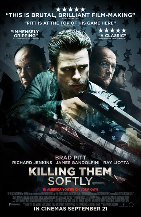 Killing Them Softly Trailer – In Theaters November 30, 2012