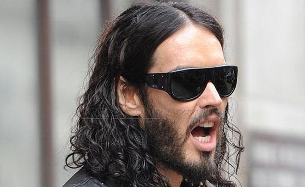 Russell Brand Crashes Range Rover, Comic Hits a Homeless Man's Shopping Cart