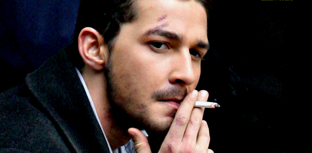 Shia LaBeouf, In a Bar fight in South London after A Guy Swipes his Cap!