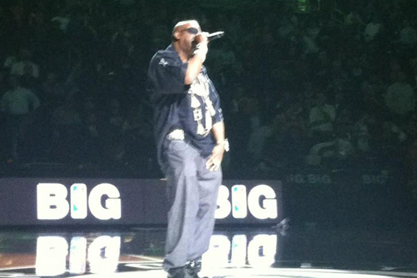 How bad was Slick Rick's Halftime Performance at the Barclay's Center? So Bad he was Trending on Twitter!