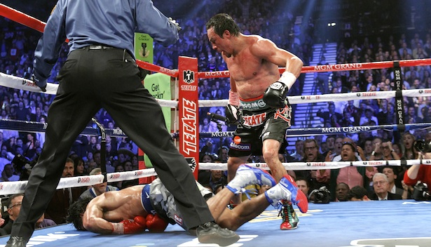 Manny Pacquiao's Camp Caught Kicking a Photographer Who Snapped Photos of the Knockout!