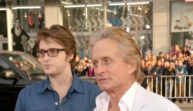 Michael Douglas' Son Beaten Badly in Prison….for Being a Snitch!